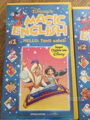 Corso di Inglese in n. 27 VHS Walter Disney's