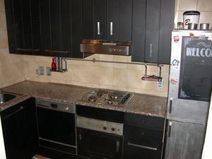 Cucina stile industriale ad angolo