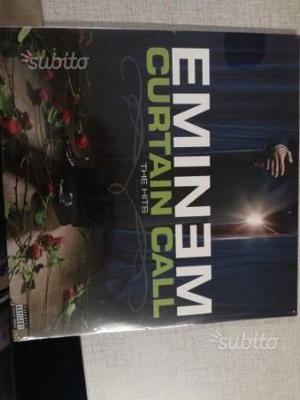 """Disco in vinile di Eminem: """"Curtain call:the hits"""""""