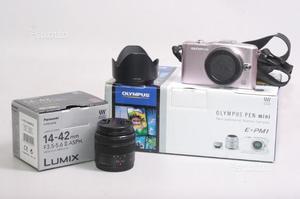 Fotocamera digitale mirrorless olympus e-pm