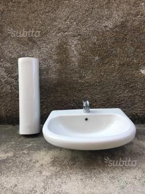 Lavabo a colonna ideal standard con rubinetto