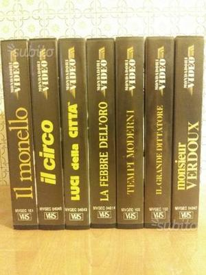VHS Collezione Charlie Chaplin Mondadori Video