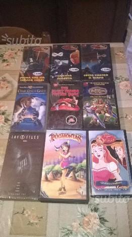 Videocassette e VHS nuove e usate