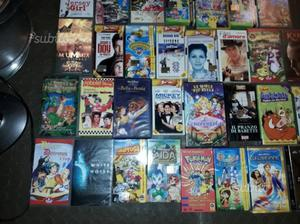 Videocassette film e cartoni