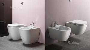 WC BIDET sospeso o a pavimento