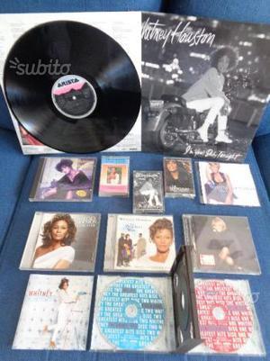 Whitney houston originali lp cd musicassette