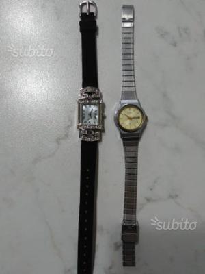 2 orologi donna