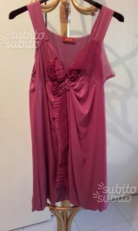 Creola vestito viola con rouge originale