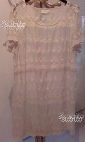 Loveandliberty vestito in seta beige originale