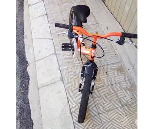 Bicicletta usata mtb mountain bike misura 20 bambino ragazzo