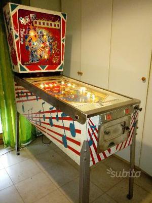 Basket elettromeccanico anni 70 no flipper jukebox | Posot Class