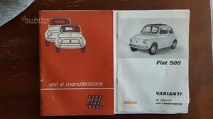 Libretto uso e manutenzione FIAT 500 – FIAT 500 L ...