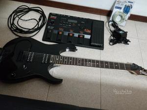 Roland GR 33 + GK 2A + Ibanez GRG 121 SP