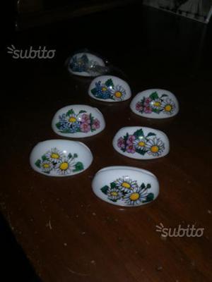 20 segnaposto in ceramica