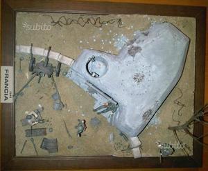 Diorama Bunker e Figurini 1/35