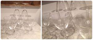 Set bicchieri vintage