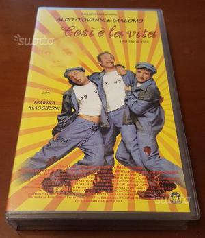 Così è la vita -  VHS Aldo Giovanni e Giacomo
