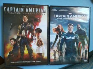 I primi due Film di Captain America