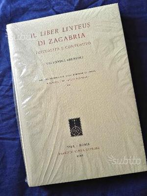 Il Liber linteus di Zagabria. Testualità e