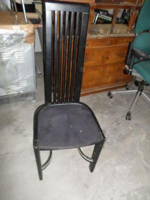 Sedie 22 disponibili in legno nere seduta bassa e schienale