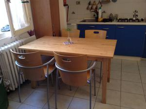 Tavolo da pranzo + 4 sedie