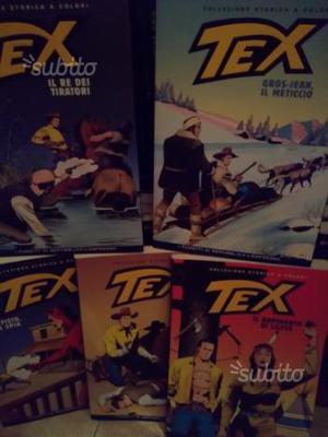 Tex collezione storica dal num 1 al 200 a 400