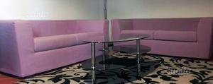 2 divani lilla, 2 posti