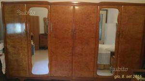 Armadio antico con specchio anni 50 🥇 | Posot Class