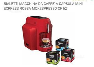 Bialetti macchina da caffè a capsule mini express