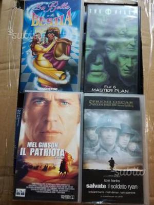 Collezione film VHS + lettore