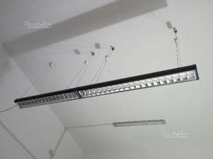 Plafoniere Garage : Lampadari neon per ufficio plafoniere