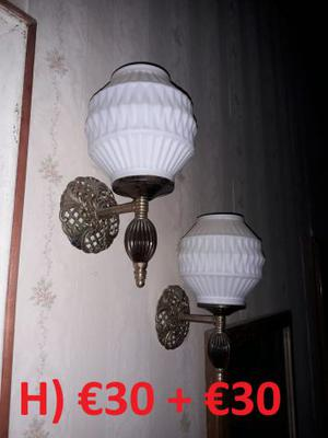 Lampade // Applique (lotto vario) - in ottone
