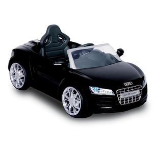 Macchina Elettrica Per Bambini 6v Audi R8 Nero