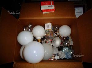 Mix lampada e27 lampadina e14 r7s alogena led