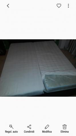 2 reti singole e 2 materassi singoli eminflex posot class for Eminflex con letto ecopelle