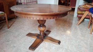 tavolo rotondo cucina legno massiccio posot class