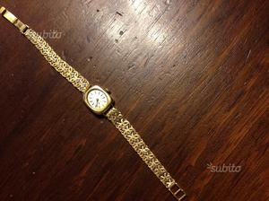 Tissot orologio vintage donna oro