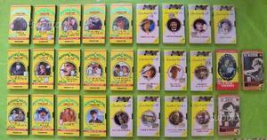 VHS Blocco 28 film in video cassetta genere gialli