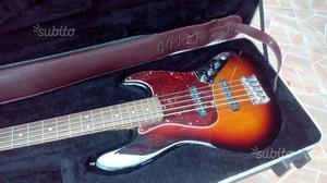 Basso elettrico 5 corde Fender Jazz Bass Sunburst