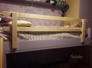 Sbarra per letto brevi posot class - Protezione letto ...