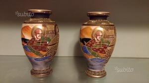 Antica coppia di vasi giapponesi in posot class for Vasi giapponesi