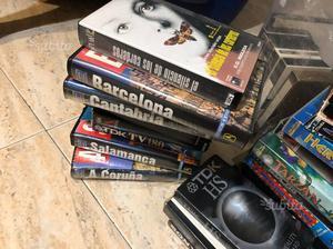 Cassette vhs film varie e cartoni 100 film
