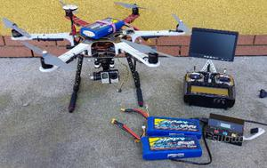 Drone professionale DJI F550 naza v2 radio