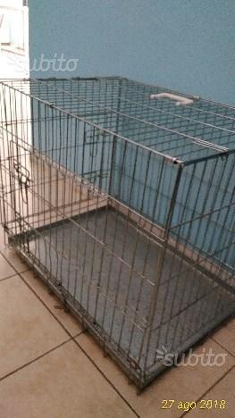 Gabbia in metallo x cani