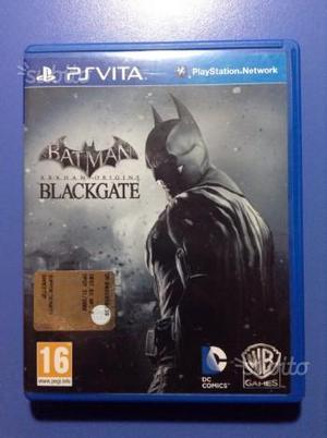 PSVITA gioco Batman Arkham Origins Blackgate