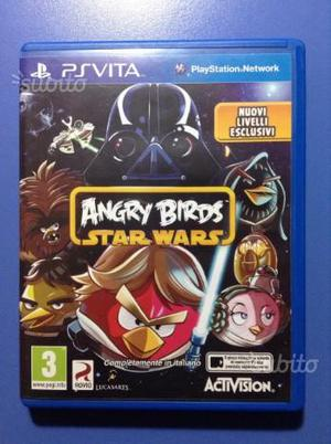 PSVita gioco Angry Birds Star Wars con livelli agg