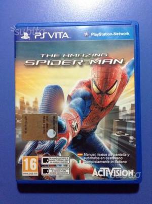 PSvita gioco the amazing spider man