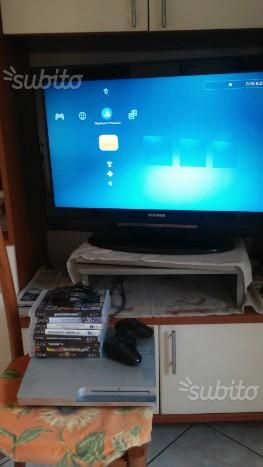 Play station 3 silver e giochi pc