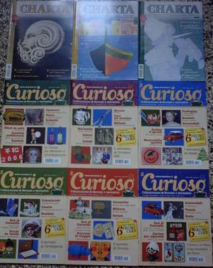 Vendo 3 numeri rivista CHARTA e 6 numeri IL CURIOSO, anche