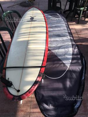 0264c52c0d Decathlon tribord 100 tavola da surf 7 con leash | Posot Class